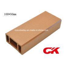 Proteção Ambiental-Proteção de madeira composto plástico WPC Fence