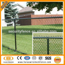 High quality cheap used 5ft pvc chain link garden fence