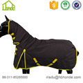 Couverture de cheval imperméable de polyester standard de participation
