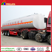 Three Axles Transport Liquid Chemical Tank Trailer