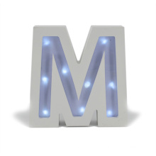 Wood LED Light Letter for Chiristmas Gift