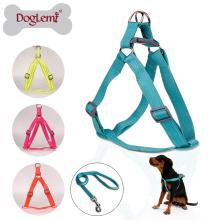 Reflektierende Neon Haustier Leine Safety Nylon Hundehalsband Leine
