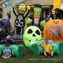 Надувные аттракционы Хэллоуин Кошка Призрака Тыква Дом с привидениями Хэллоуин Надувной