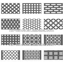 нержавеющая сталь / оцинкованная перфорированные металлические meshsheet горячей продажи