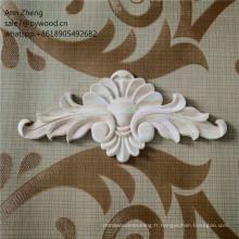 Cabinet onlay moulant shell onlay avec moulure en couronne