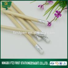 Papelaria chinesa Lápis em massa de madeira