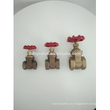 "1""inch hot sale PN20/PN25 water, gas bronze gate valve with prices"