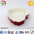 9 дюймов подгонянные логотип в форме сердца керамическая плита,сердцевидные кухонную посуду