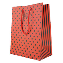 Voller Farben-Papiergeschenk-Taschen-Gewohnheits-Geschenktaschen-Drucken