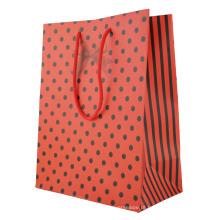 Saco de presente de papel com cores completas Saco de presente personalizado