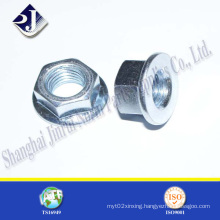 Hex Flange Nut for Automobile Plated Gr 8