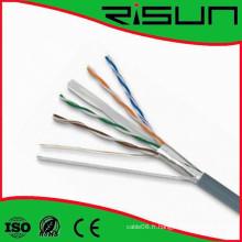 Câble réseau CAT6 FTP LAN avec CE RoHS ISO9001