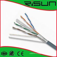 LAN кабель Сетевой кабель cat6 кабель FTP с CE и RoHS сертификат ISO9001