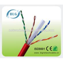 28AWG UTP cat6 cables de comunicación de dispositivos inalámbricos