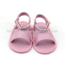 Heißer Verkauf PU-flacher Babyschuh hübsches Mädchenkleinkindschuhe