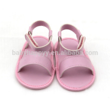 Hot selling PU flat baby shoe pretty girl toddler shoes