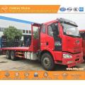FAW 260hp Euro3 machine equipment transport truck