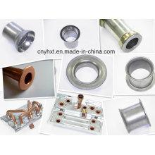 Spinning adapté aux besoins du client, pièces de filature en métal avec l'estampillage