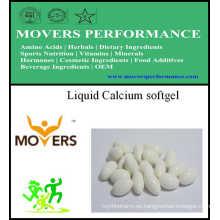 Cápsula líquida de calcio / Cápsula vegetal / sin conservantes