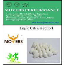 Liquid Calcium Softgel/Vegetable Softgel/No Preservatives
