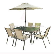 Outdoor dining furniture garden sets table and chairs