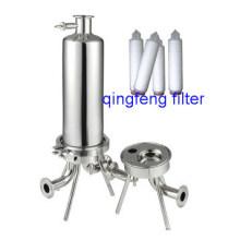 Filtergehäuse aus Edelstahl Patronenfiltergehäuse