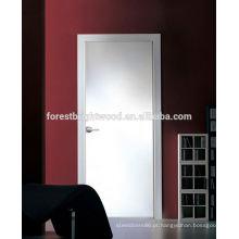 Venda quente Branco Flush de madeira isolados portas interiores