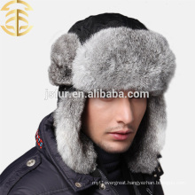 Factory Wholesale Price Keep Warm Men Rabbit Fur Hat