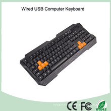 ABS Materials Laser Printing Ultra Silent Office PC Keyboard (KB-1688-O)
