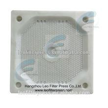 Diseño de placas de prensa de filtro Leo para diferentes prensas de filtro de tamaño