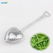 Stainless Steel Long Handle Heart shaped Tea Infuser