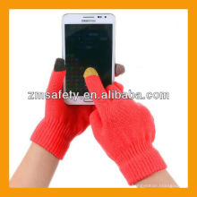 Guantes táctiles inteligentes / Guantes táctiles con tres dedos