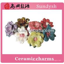 nueva alta calidad de moda al por mayor zirconia blanca cerámica anillos de joyería para las mujeres