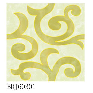 Fábrica de telhas de carpete de ouro em Fujian (BDJ60301)