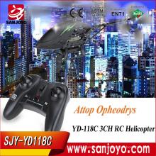 Original cámara infrarroja china de la cámara del helicóptero del rc del sensor de Attop YD-118C en existencia