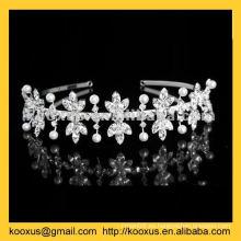 Diadema de la tiara de la nueva corona del estilo 2014