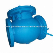 Swing Check Valve, Made of Cast Iron/Ductile Iron, Aluminum Bronze and Stainless Steel Body Material