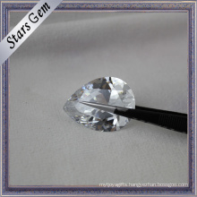 Shining Brilliant Cut Wholesale White Cubic Zirconia Gemstone