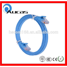 High speed FTP cat6 flat patch cord cable rj45 flat cable