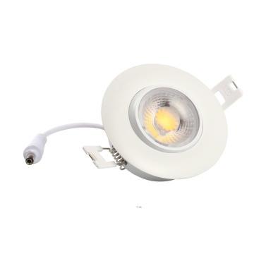 8 Вт свет 700lm 3-дюймовый Карданный светодиодный встроенное освещение