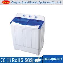 Precio semi automático automático de la lavadora de la tina gemela con CE