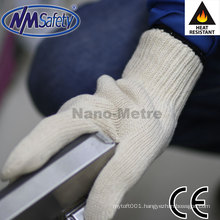 NMSAFETY 7 gauge cotton heat resistant gloves 180 degrees