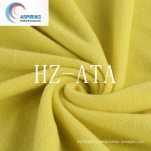 100% Polyester 75D / 144f Toile polaire Anti-Pilling tricotée pour vêtements et Hometextile