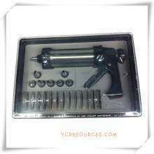 Caixas de presente de aço inoxidável relativas à promoção da máquina do bolinho para o presente da promoção (EA13002)