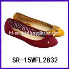 2015 Frauen flache Schuhe China Frauen Schuhe China Großhandel Schuhe