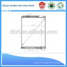 1015*808*40mm cooling radiator for Mercedes dump truck