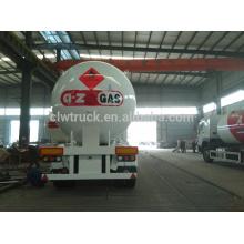 2015 alta calidad mayor fábrica de china suministro 3 ejes baratos tanque de gas licuado semirremolque