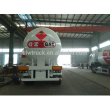 2015 high quality biggest china factory supply 3 axles cheap lpg tank semi trailer