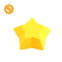 Estrela de preço de fábrica em forma de fabricação de molde de pastelaria Bolo de Silicone