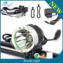 High power CREE LED rechargeable bike headlights